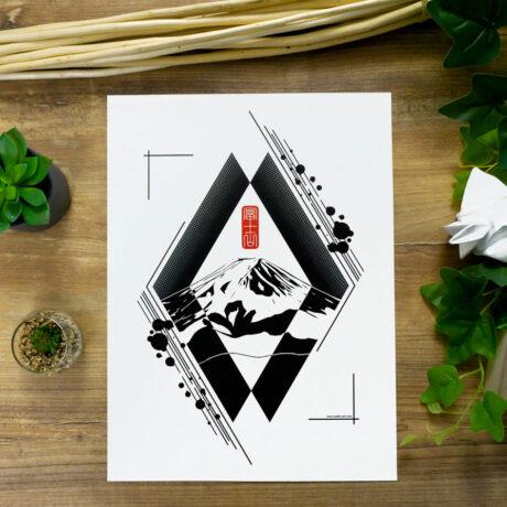 poster-japon-fuji-30×40-2