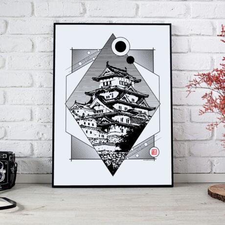 poster-japon-himeji-30×40-1