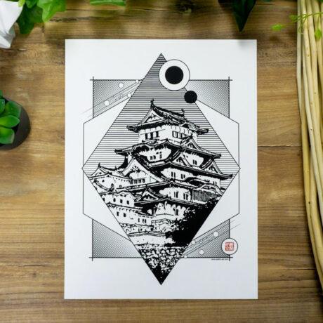 poster-japon-himeji-30×40-2