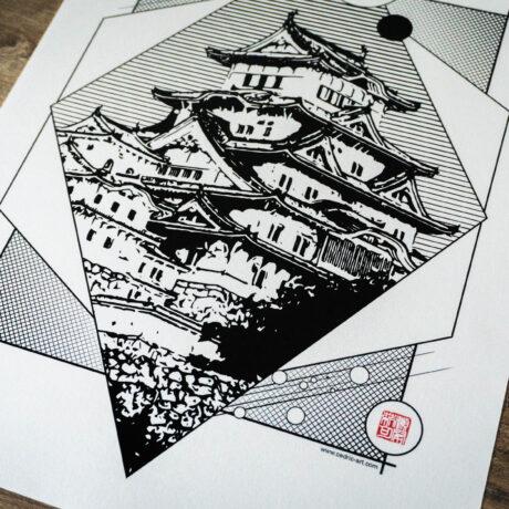 poster-japon-himeji-30×40-3