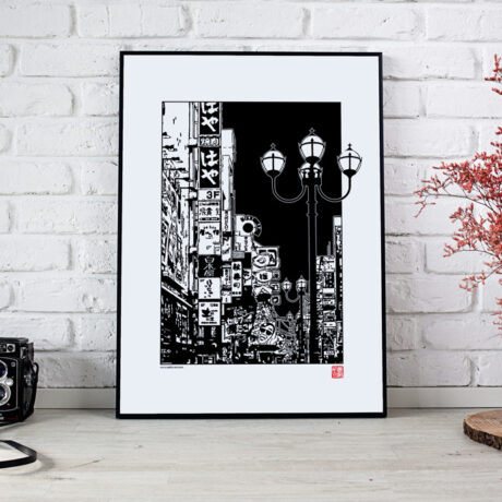 poster-japon-osaka-30×40-1