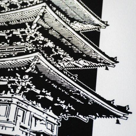 poster-japon-pagode-30×40-4