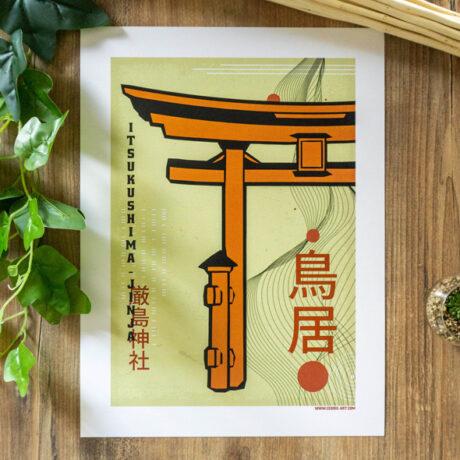 poster-japon-torii-2