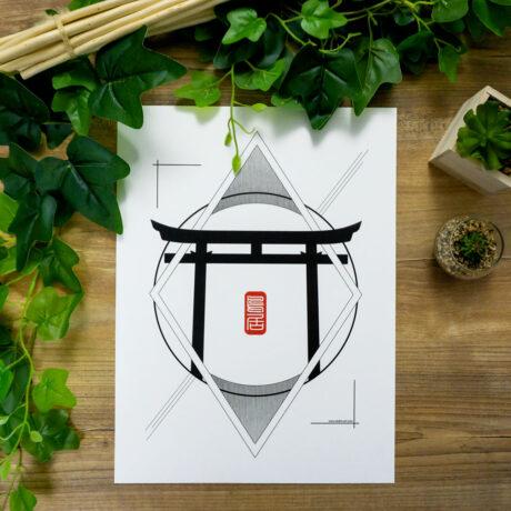 poster-japon-torii-30×40-2