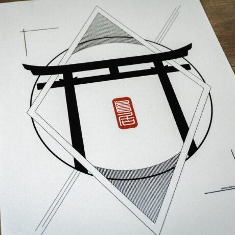 poster-japon-torii-30×40-3