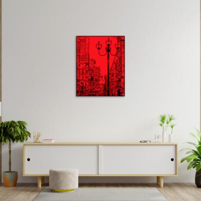 tableau japon balade a osaka