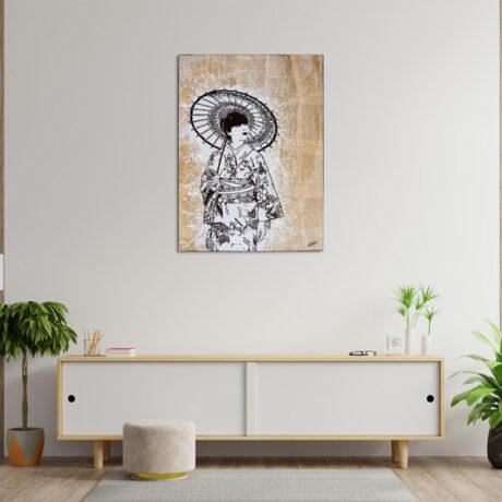 tableau-japon-collage-geisha-2