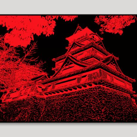 tableau-japon-kumamoto-jo-2