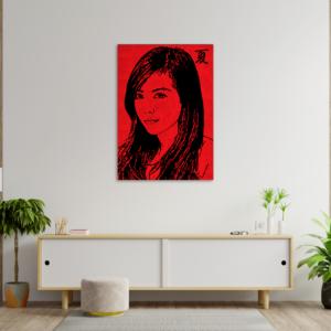 tableau japon portrait natsuko
