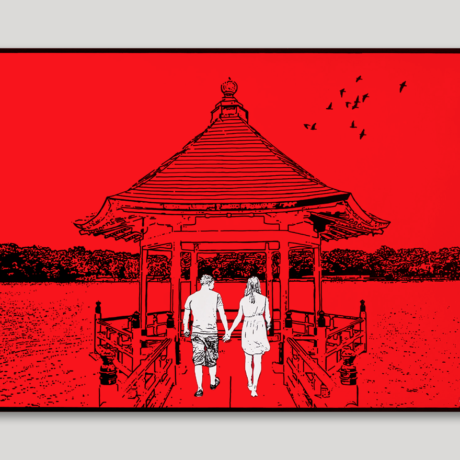 tableau-japon-promenade-a-fukuoka-2