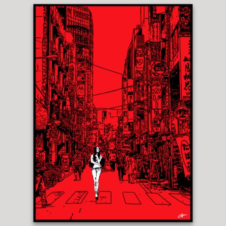 tableau-japon-promenade-a-ikebukuro-2