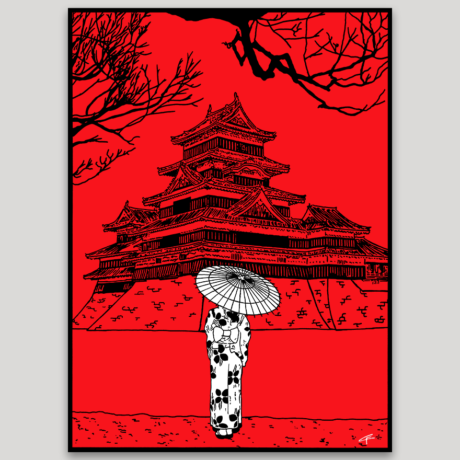 tableau-japon-promenade-a-matsumoto-2