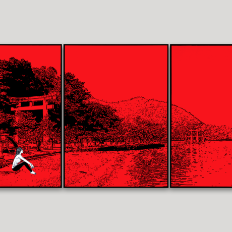 tableau-japon-promenade-a-miyajima-2
