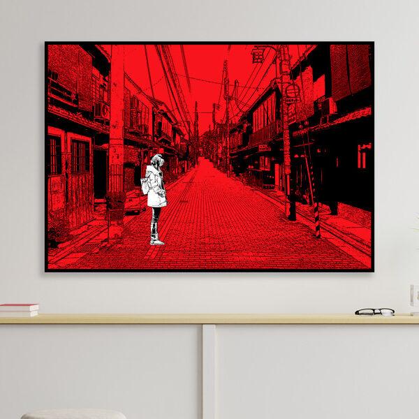 tableau japon kyoto